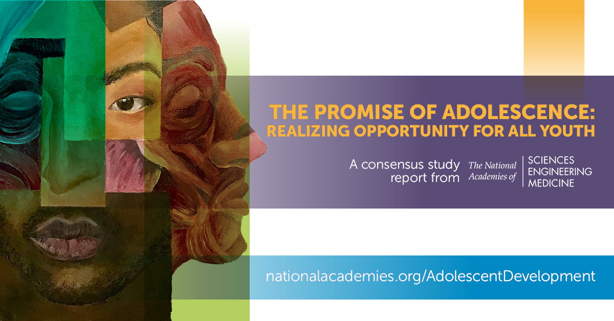 New Report on Adolescence Available at No Charge